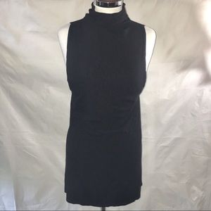 REFORMATION black ENZO sleeveless Mini Dress XS